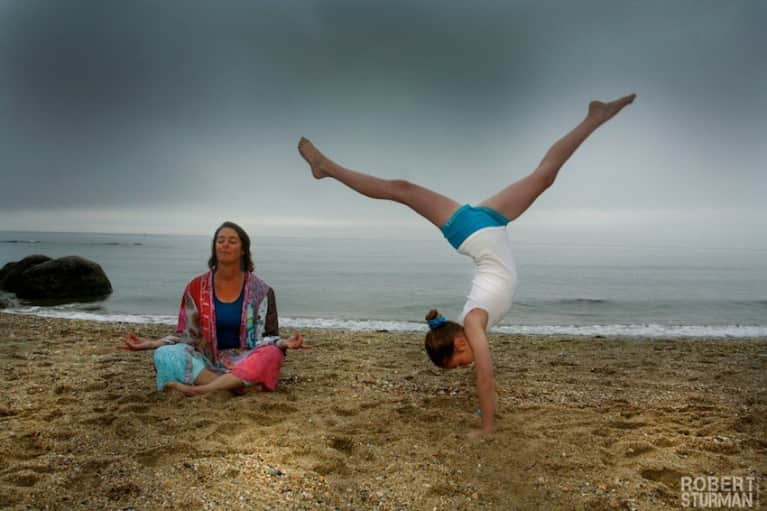 Yoga With Kids (Sweet Slideshow)