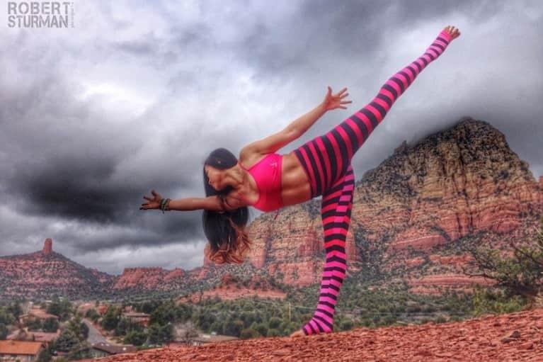 Big Rocks & Big Skies: Yoga In Sedona, Arizona (Beautiful Photos)