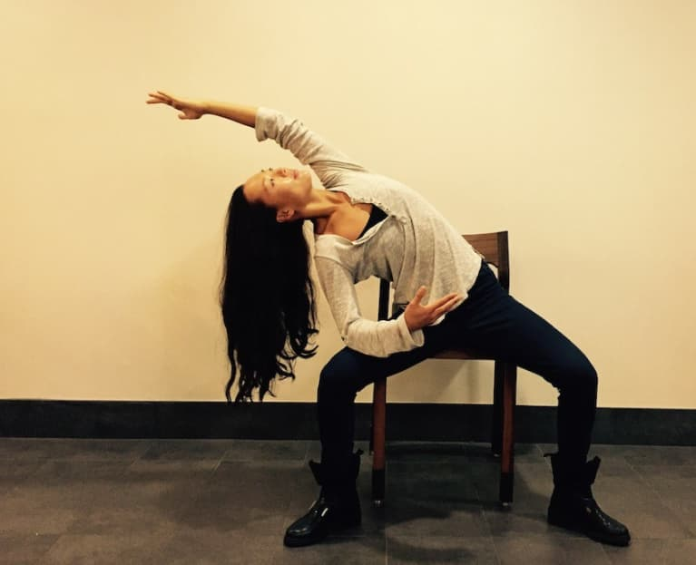 Ditch The Caffeine! Try This Energizing Yoga Sequence At The Office