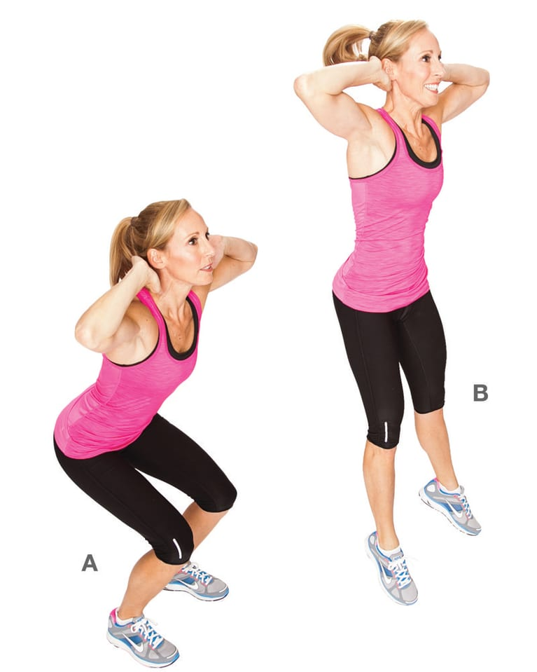 5 Awesome Exercises For A 30-Minute Fat-Burning Workout