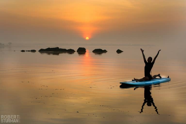 Stand Up Paddleboard Yoga On The Long Island Sound (Gorgeous Slideshow)