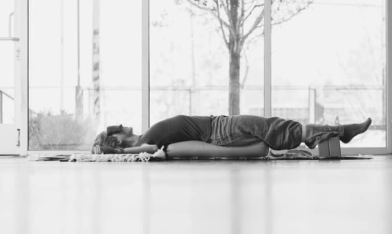 3 Restorative Yoga Poses To Help Heal Trauma