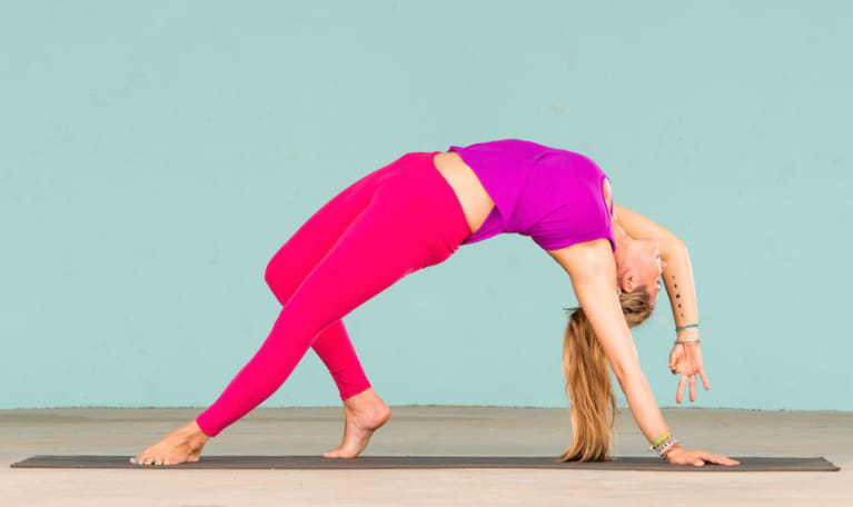 A Yoga Sequence To Open Your Heart & Stretch Your Back