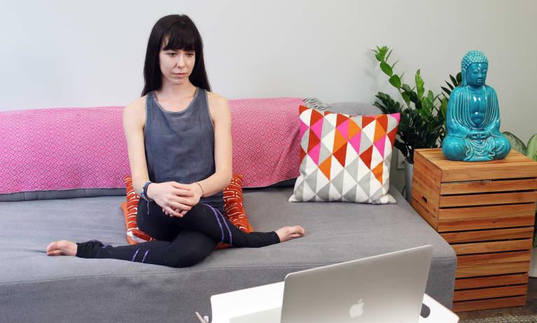 Yoga Poses You Can Do While Binge-Watching Netflix