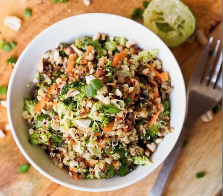 Thai Veggie Quinoa Bowls