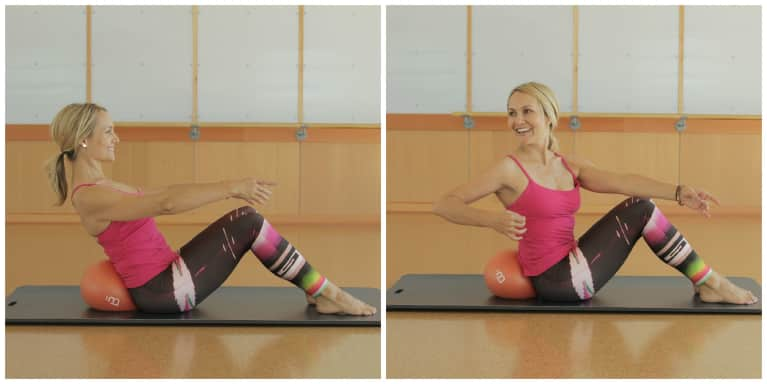 4 Barre Moves For A Strong Core