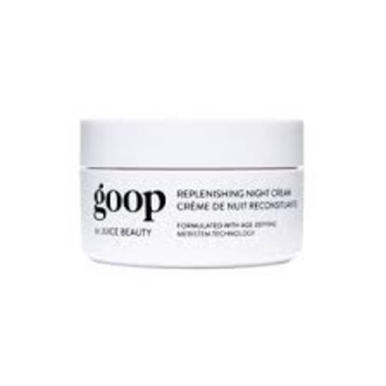 goop brand replenishing night cream