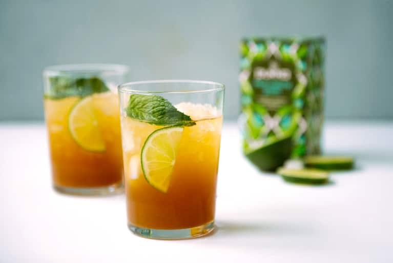 matcha beverage made with pukka brand