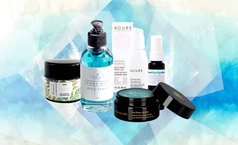 The Blue Oil That's A Secret Skin Care Superpower