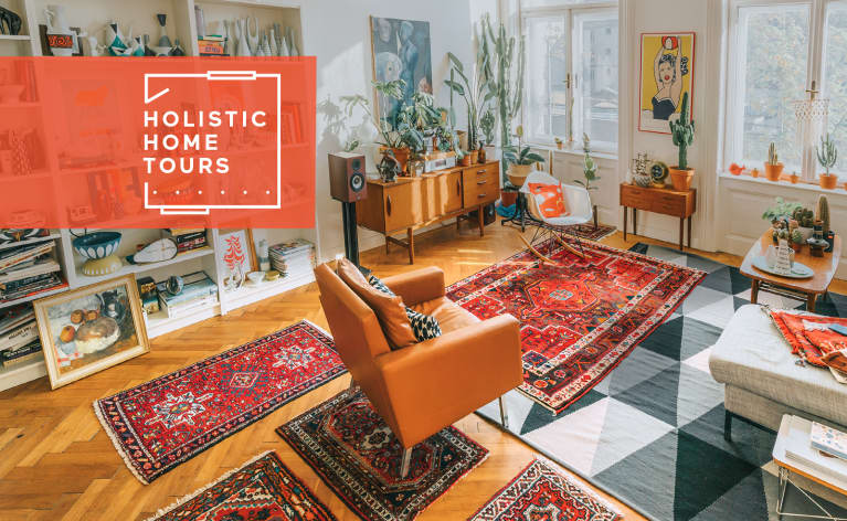 This Scandi Home's Rugs Serve A Surprising Stress-Busting Purpose