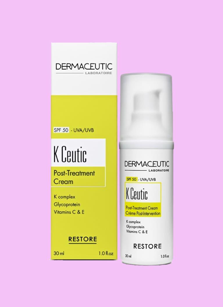 dermaceutic post treatment cream