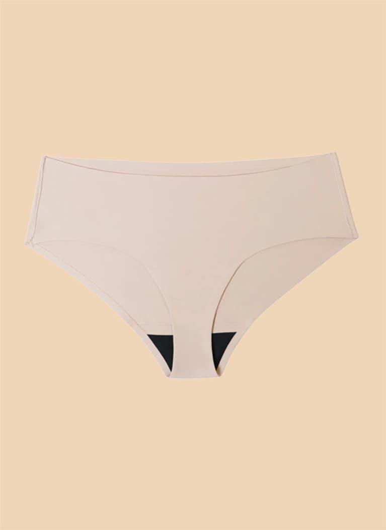 Proof period underwear in beige