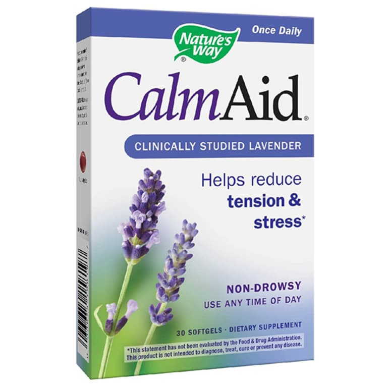 Nature's Way Calm Aid supplement box