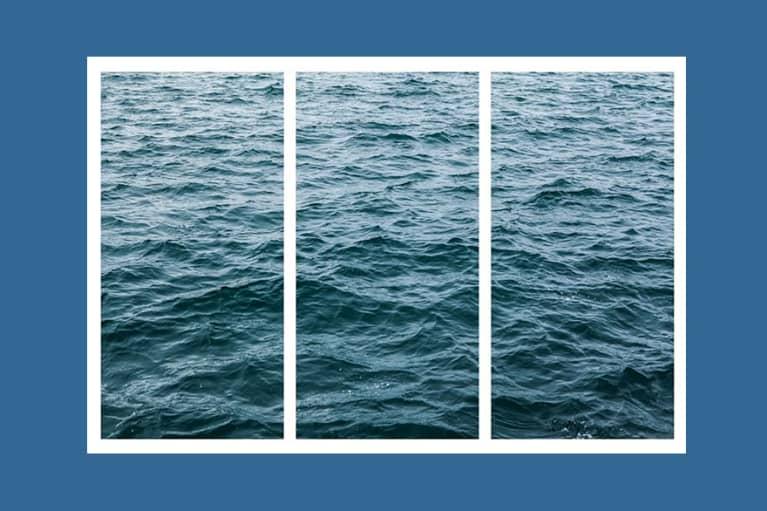<p>Wave Triptych Canvas Print</p>