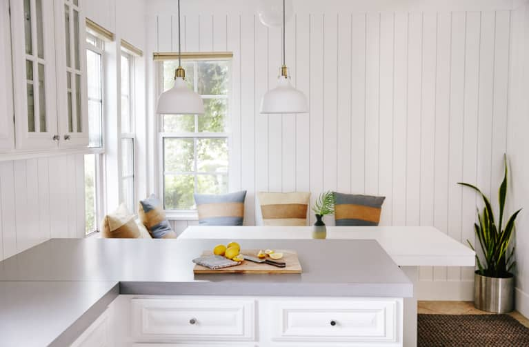 Clean Kitchen and Breakfast Nook