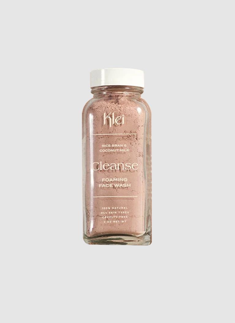 Klei Beauty Coconut Milk & Rice Bran Cleanse Foaming Face Wash