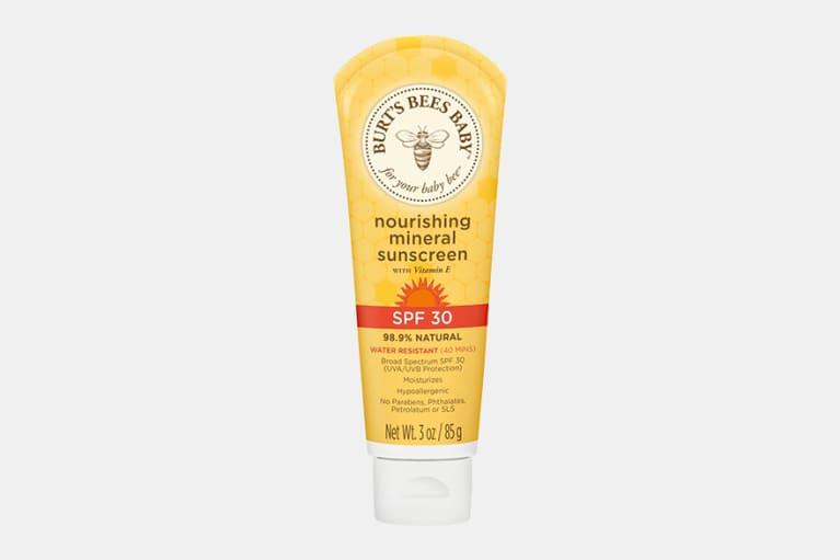 burt's bees sunscreen