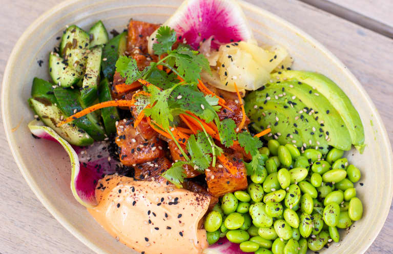 Celebrate National Watermelon Day With This Vegan Take On A Poke Bowl