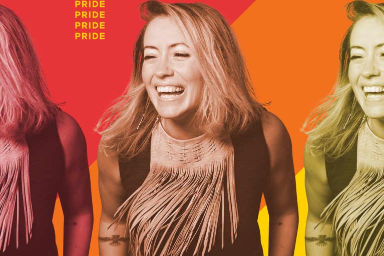 Kathryn Budig talks with mindbodygreen for Pride Month