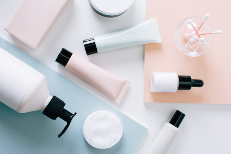 Beauty Products from Above