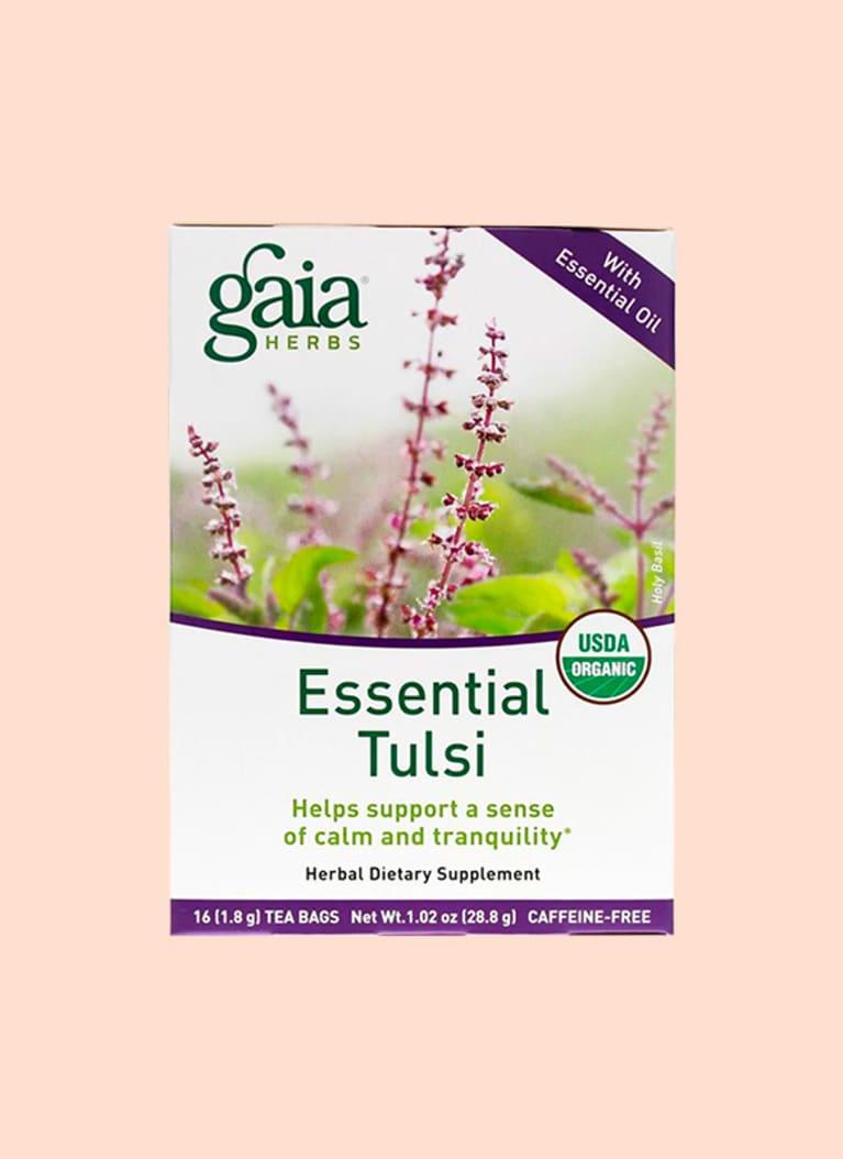 Gaia Herbs Essential Tulsi Tea