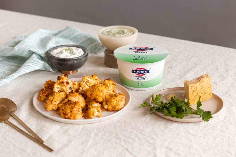 These Buffalo Cauliflower Bites Pack 20 Grams Of Protein Per Serving (Got Your Attention Now, Don't We?)
