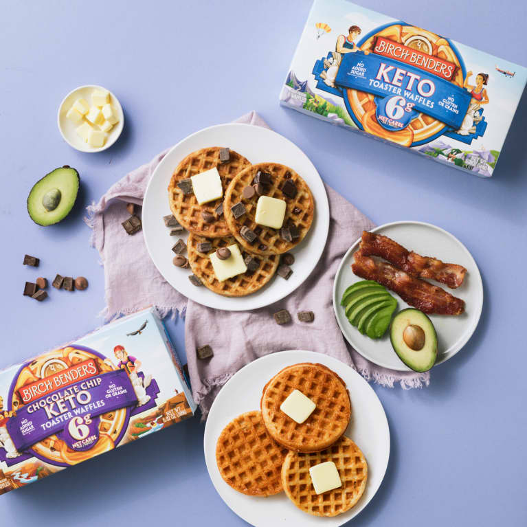 We Asked The Healthiest People On Team mbg How They Level Up Breakfast: Here's What They Said (Who Knew Waffles Were So Popular?)