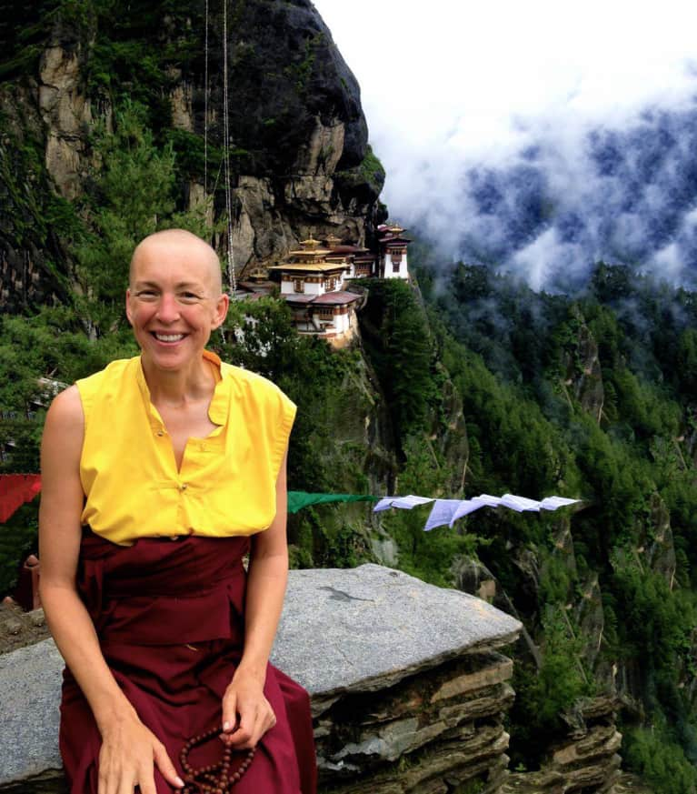 I Became A Buddhist Nun After A Near-Death Experience. Here's My Spiritual Intel