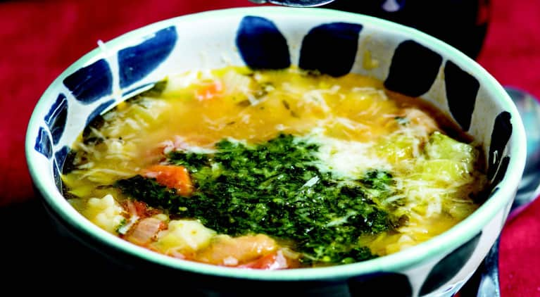 A Soup You Can Make With Whatever's In Your Fridge RIGHT NOW