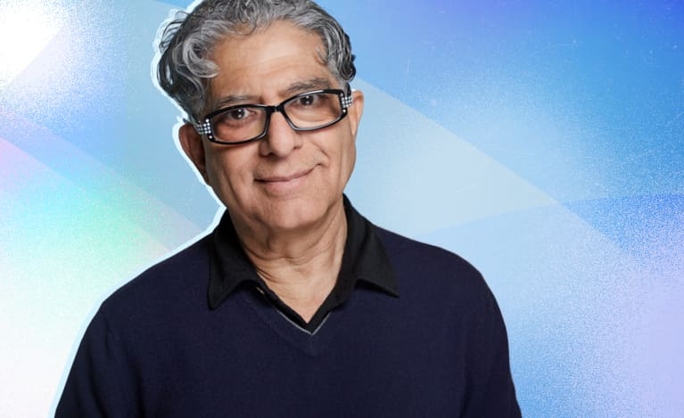 Yes, Even Deepak Chopra Wears A Wellness Tracker — Here's Why