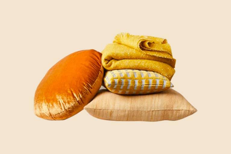 <p>Cheery Yellows Pillow Set</p>