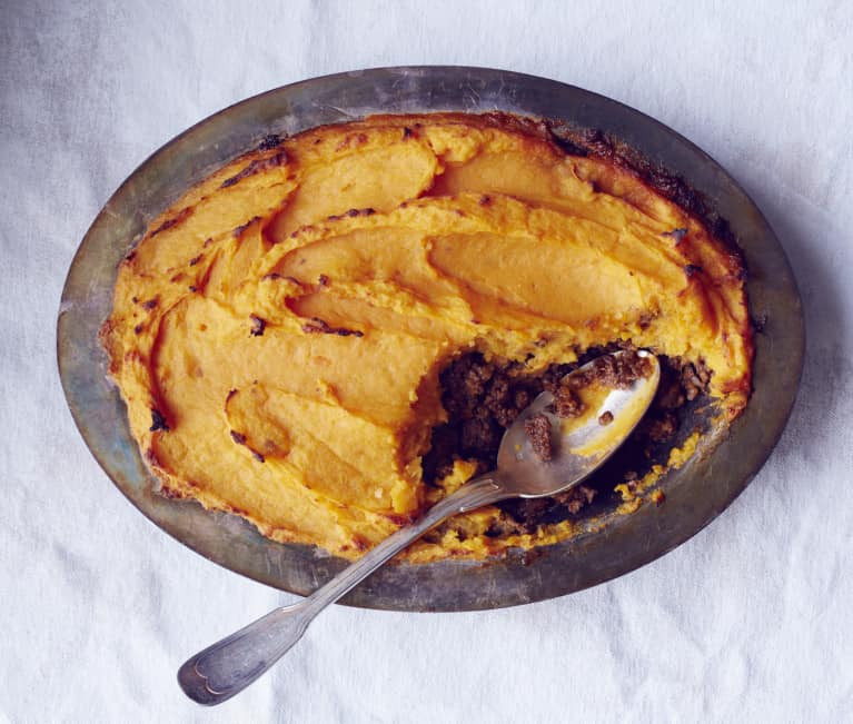 Simple & Comforting Dinner: Sweet Potato Cottage Pie