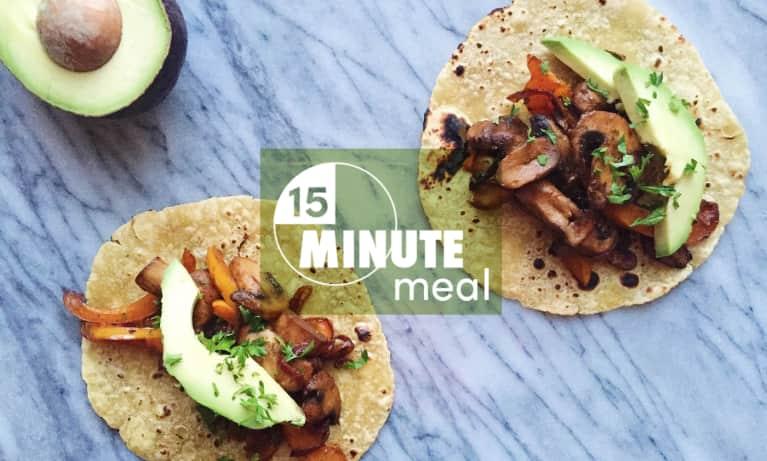 15-Minute Dinner: Smoky Mushroom Tacos