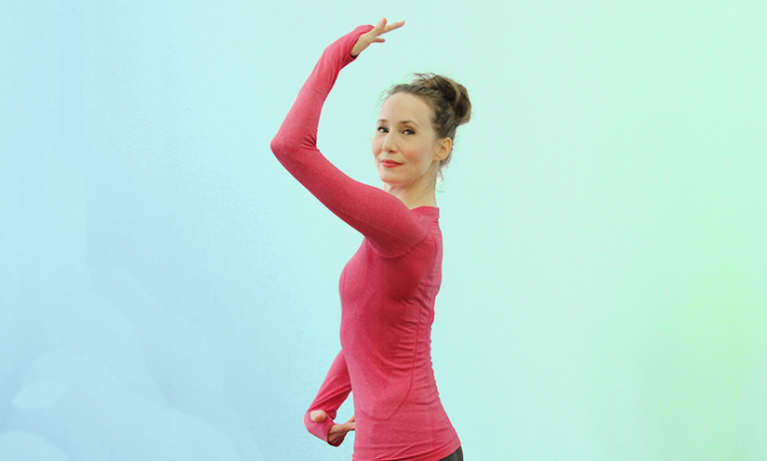 2-Minute Workout For A Ballerina Body