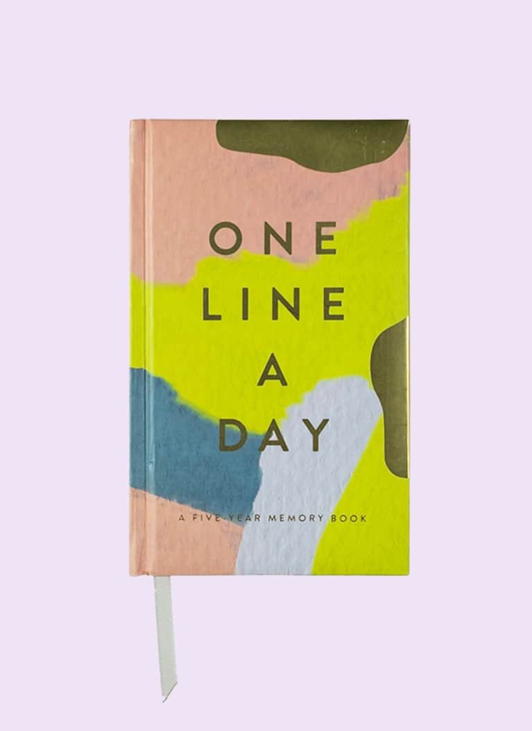 moglea one line a day memory book