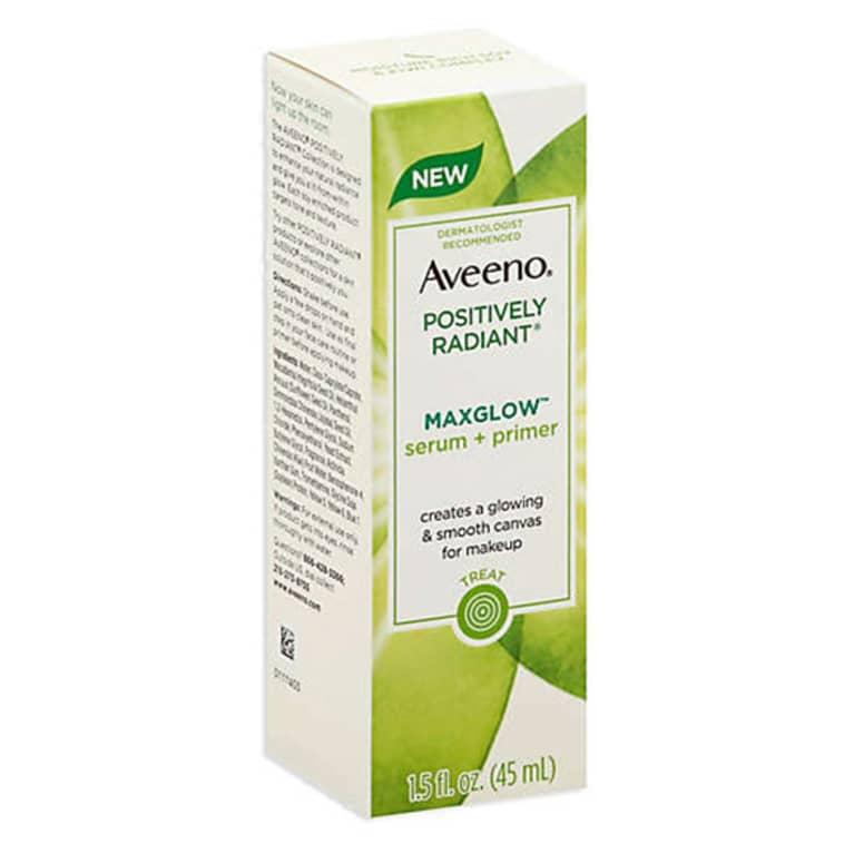 Aveeno Positively Radiant Maxglow Serum Primer