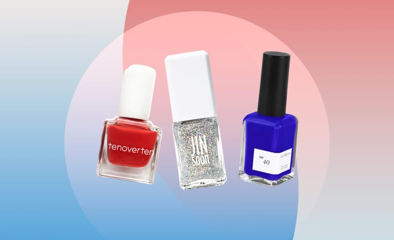 Non-Toxic Nail Polishes for the Fourth of July 2019