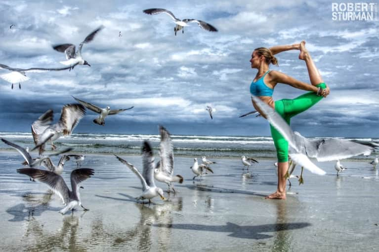 Wish You Were Here: Yoga Photos From The Sunshine State