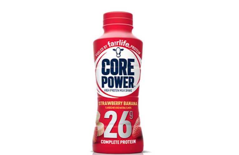 Core Power Strawberry Banana High Protein Milk Shake