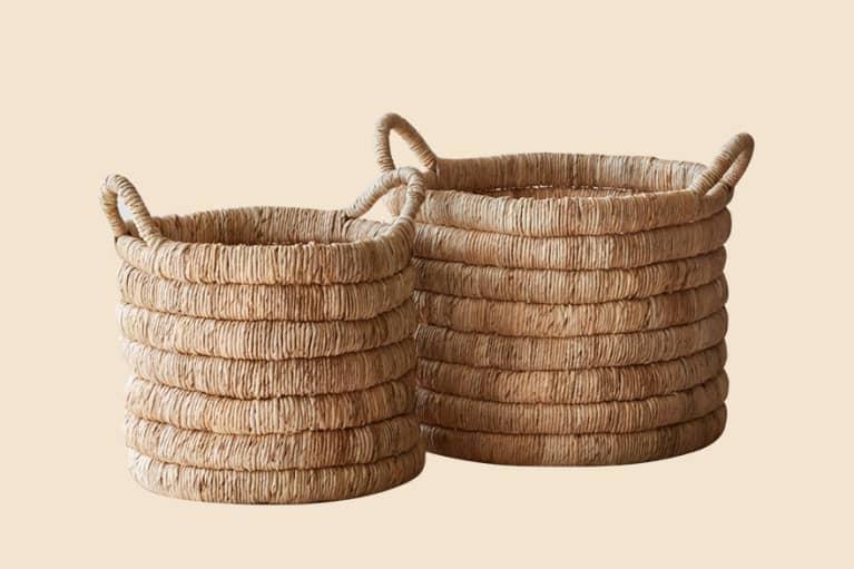 <p>Sundak Handmade Storage Baskets</p>