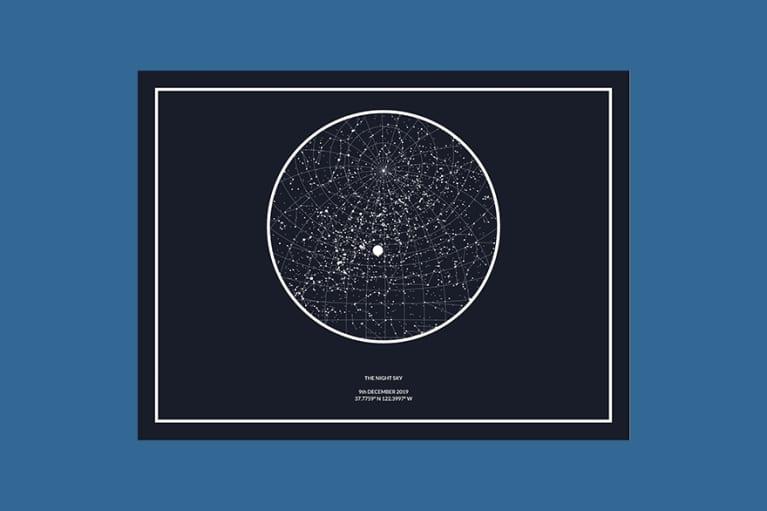 <p>The Night Sky Print</p>