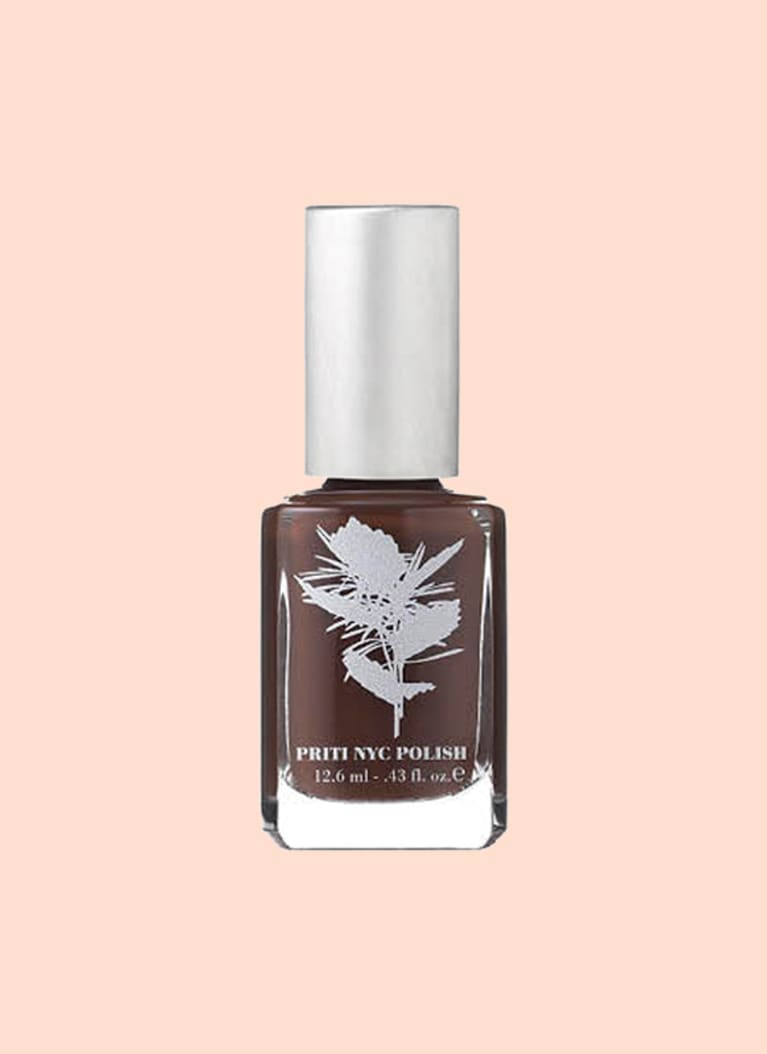 Priti NYC Polish Nail Polish in Chocolate Daisy