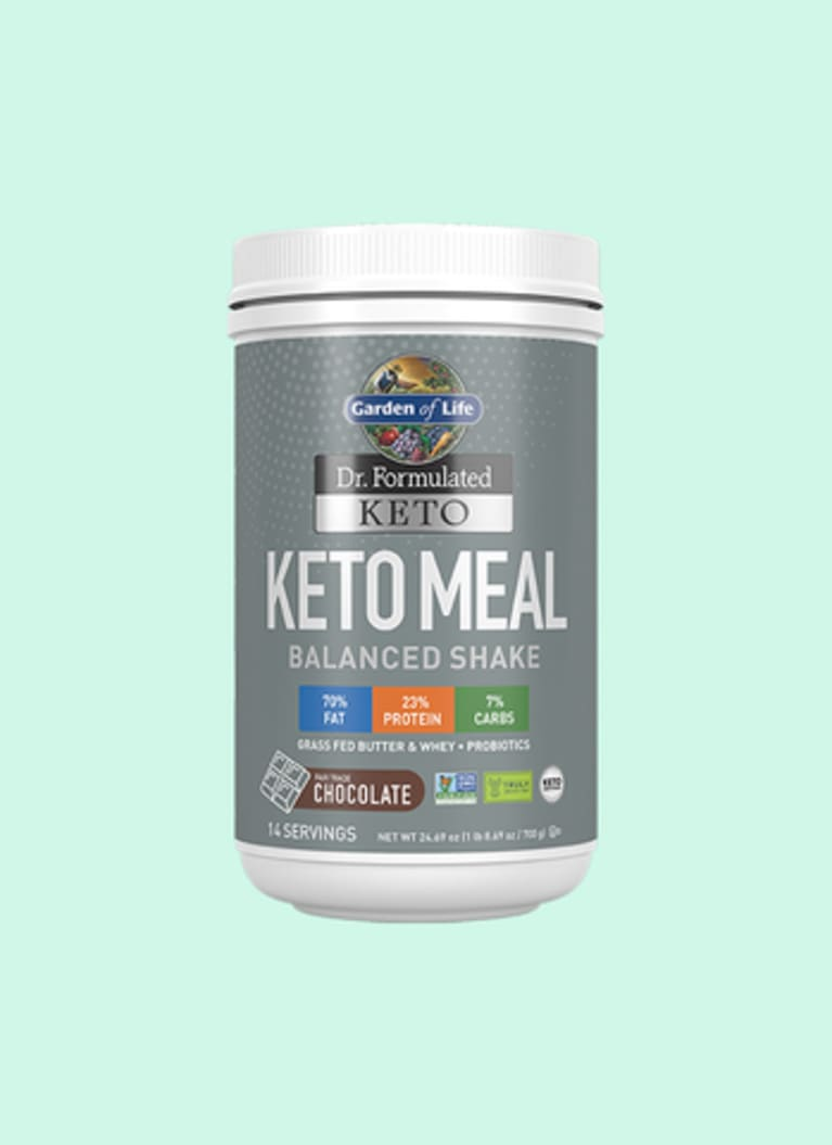 Garden of Life Chocolate Keto Meal Balanced Shake