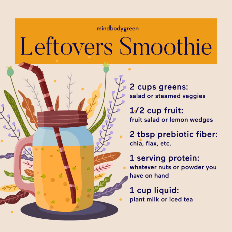 smoothie and recipe
