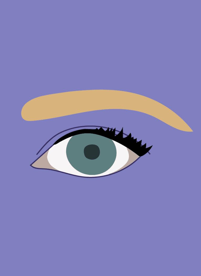 round eyes