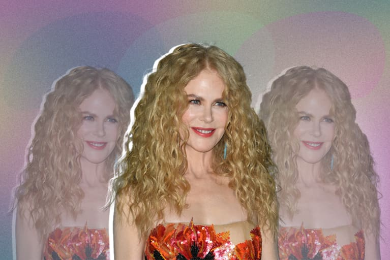 Nicole Kidman Uses This Bedtime Trick To Wake Up With Lush, Tangle-Free Curls