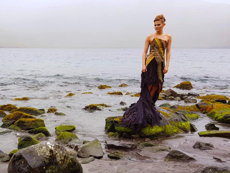 Why Seaweed Could Be The Next Fashion Statement