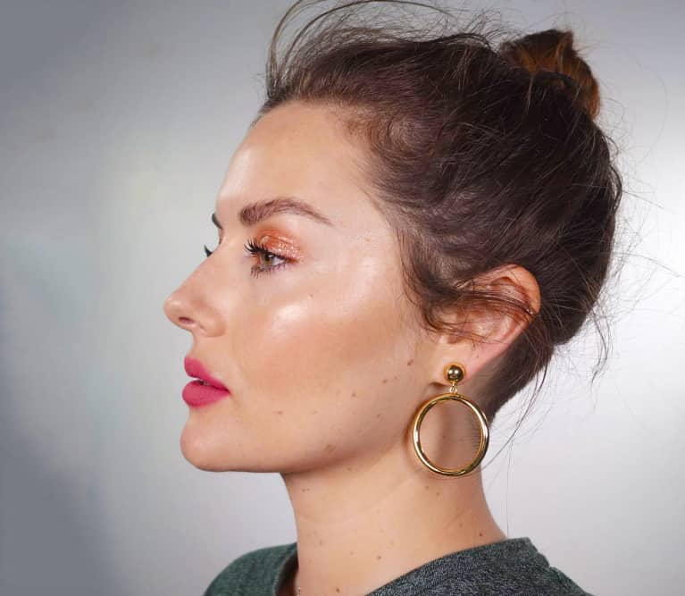 Get The Glossy Look With Green Beauty, According To Insta-Famous Makeup Artist Katie Jane Hughes