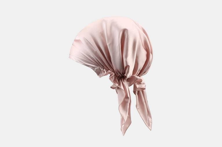 Olesilk 19 Momme Silk Night Cap For Hair