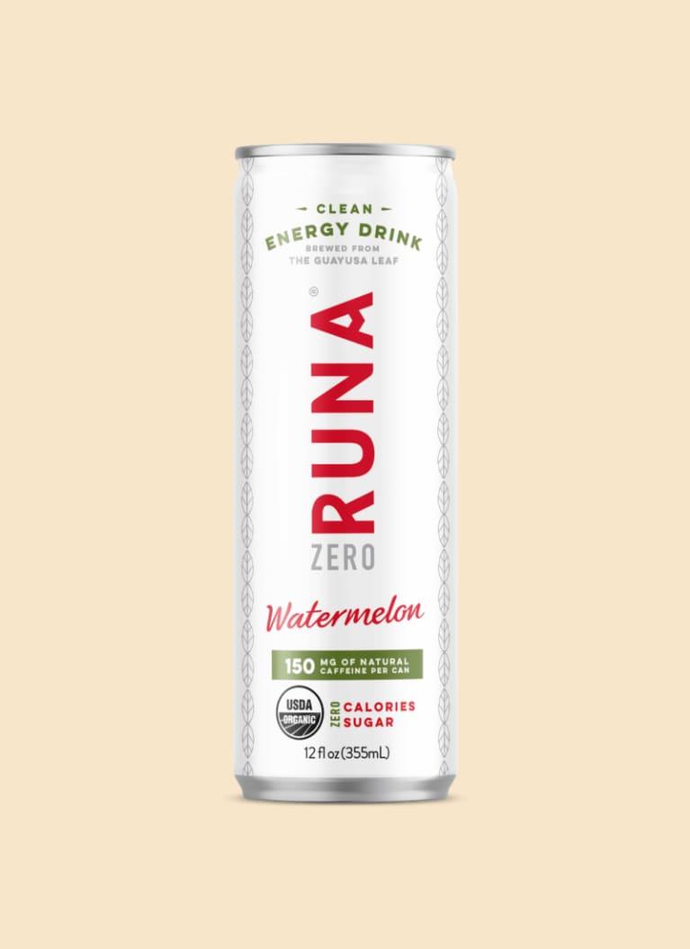 RUNA ZERO Organic Clean Energy Drink—Watermelon